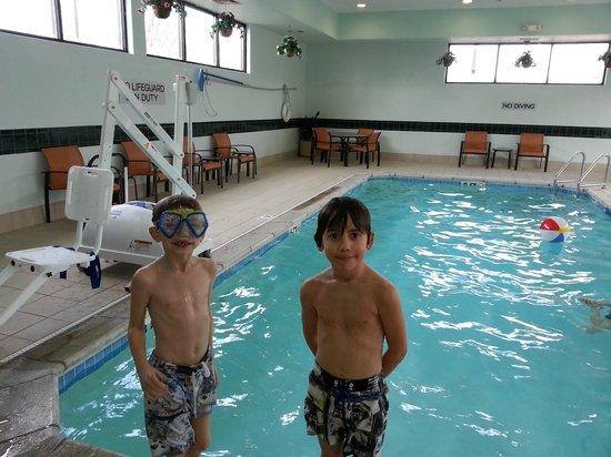 Courtyard Bettendorf Quad Cities: Grand kids