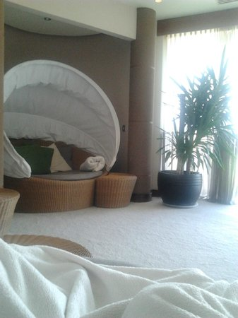 Ballygarry House Hotel & Spa : Relaxation room bliss!