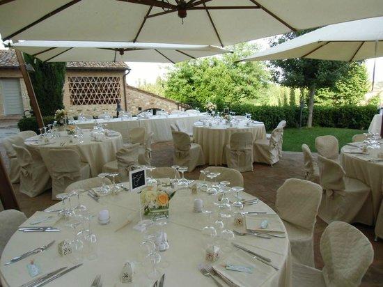 Villa Ducci: terrazza panoramica