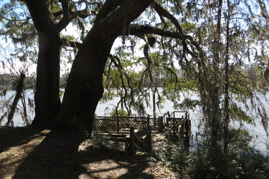 Hopsewee Plantation: Boat dock on N. Santee