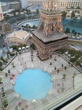 Paris Las Vegas: View from our room