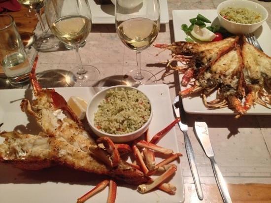 Panama Jacks: Mozambique lobster