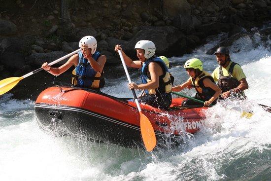 Campo, Ισπανία: Rafting en el Pirineo Aragones