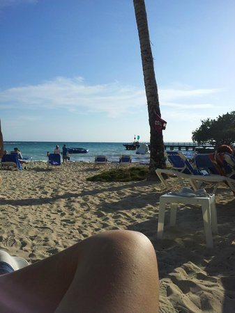 Dreams La Romana Resort & Spa: plage