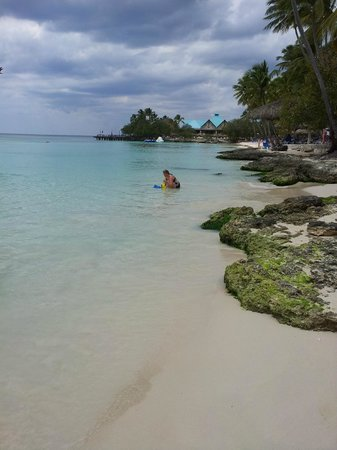 Dreams La Romana Resort & Spa: bord de mer