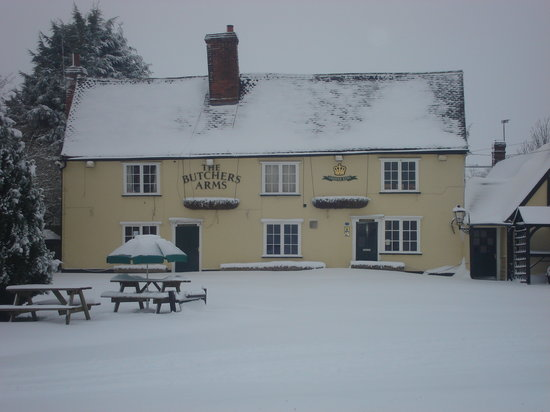 The Butchers Arms: Lovely in Winter