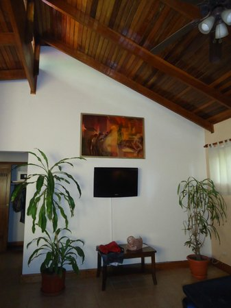 DoceLunas Hotel, Restaurant & Spa: painting hanging in one of the garden rooms