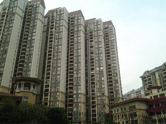She & He Hotel Apartment Guangzhou River Class : Vista do quarto