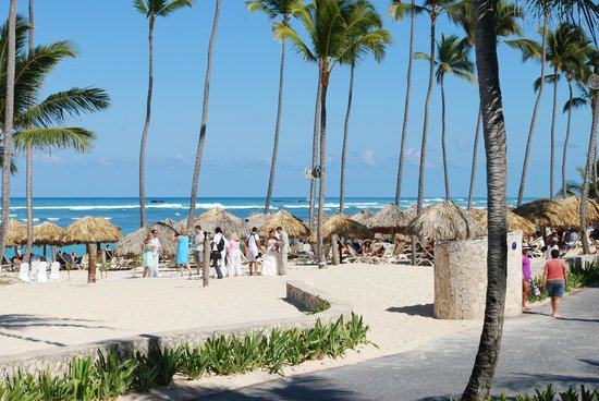 Majestic Colonial Punta Cana: beach area