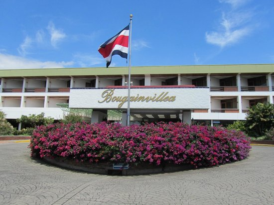 Hotel Bougainvillea: The front of hotel