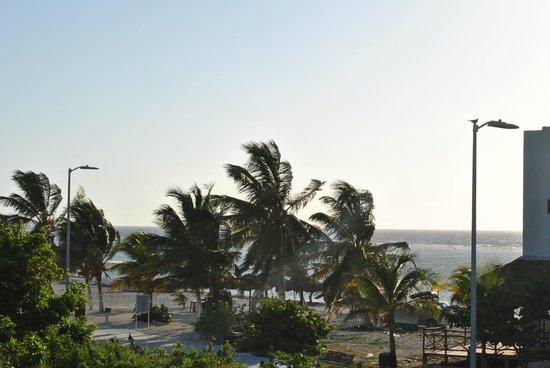 Ko'ox El Hotelito Beach Hotel: desde el balcón de la habitación