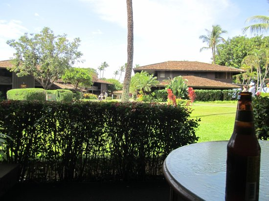 Royal Lahaina Resort: View from our lanai