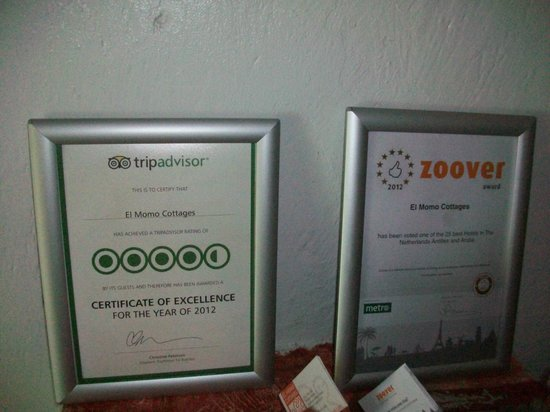 El Momo Cottages: Top Rated Awards?? Really?!
