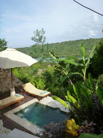 Twin Island Villas: View from our room!