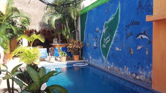 كاسيتا دي مايا بوتيك أوتيل: pool area