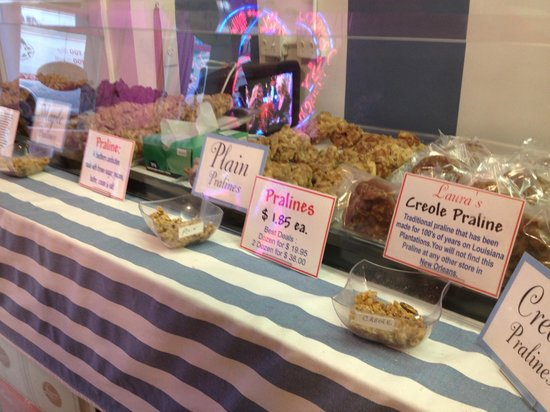 Laura's Candies : Who knew there were so many different kinds of pralines!