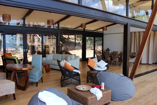 """The Resort at Isla Palenque: """"living room"""" area"""