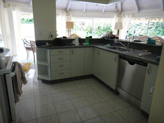 Te Manava Luxury Villas & Spa : Kitchen