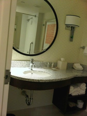Renaissance Boston Waterfront Hotel: Bathroom