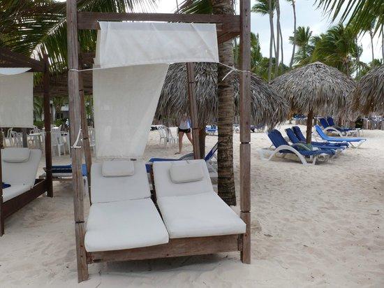 Occidental Grand Punta Cana: RC beach bed