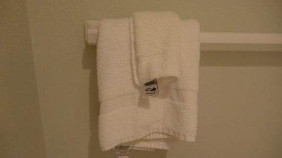 Econo Lodge Crystal Coast: Towels