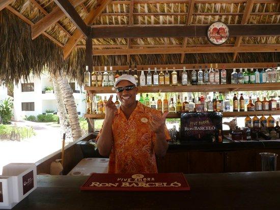 Occidental Grand Punta Cana: Jose at RC bar!