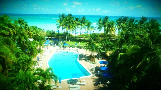 Four Points by Sheraton Miami Beach: View from our Room