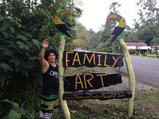 Talamanca Family Art: Gerardo