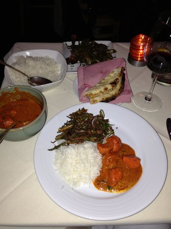 My wonderful dinner at Amma!