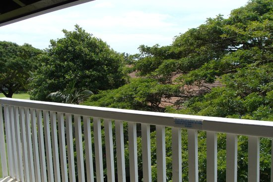 Kiahuna Plantation Resort: balcony view