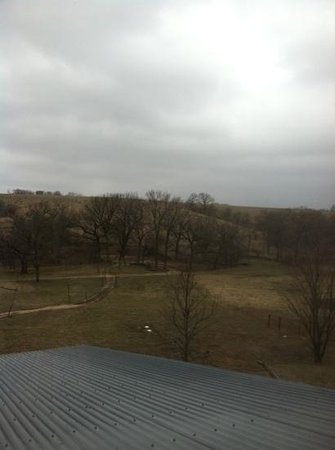 Circle S Guest Ranch and Country Inn : view from our room even on a cold dreary day