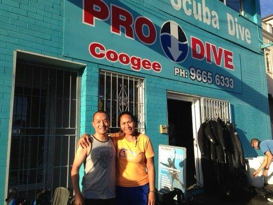 Pro Dive: Hosanna & Hideki