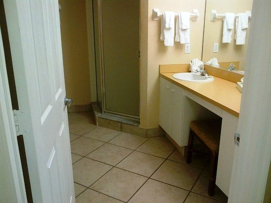 "Vacation Village at Weston: Bathroom with shower (tub is separate) - ""A"" unit"