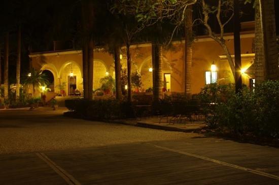 Hacienda Chichen: la vue exterieure