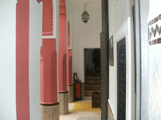 Riad Swaka : patio