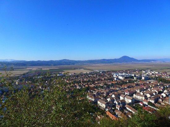 Rasnov Citadel: More view