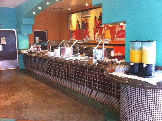 Penasco Del Sol Hotel: Breakfast buffet