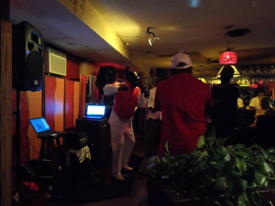 Bell Channel Inn: This is in the bar Friday nights. The famous Bahamian singer Jay Michael's is performing