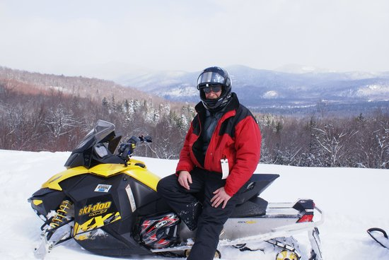 Northern Extremes Snowmobiling - Tours: What a day.