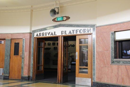 Toitu Otago Settlers Museum: old Bus terminal, Dunedin.