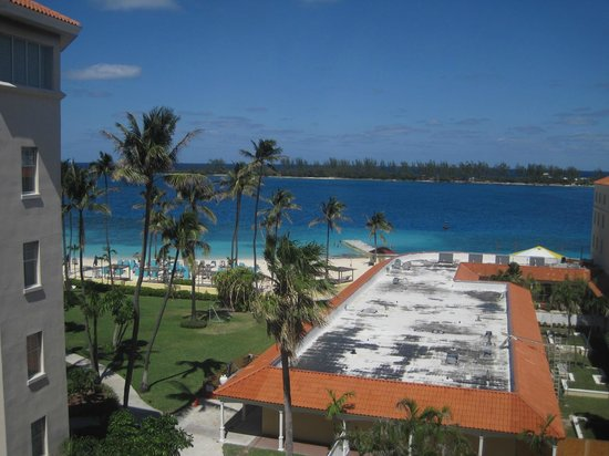 British Colonial Hilton Nassau: View from the room (Looking straight out)