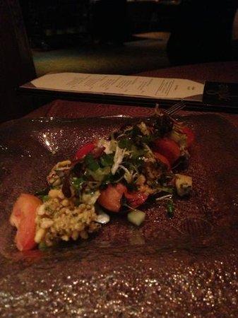 Angle: tomato salad