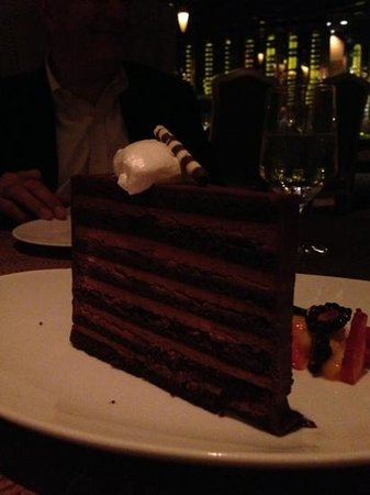 Angle: 14 layer choc cake!