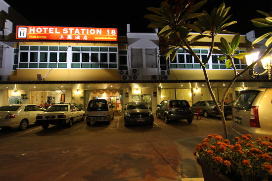 Hotel Station 18: Exterior View