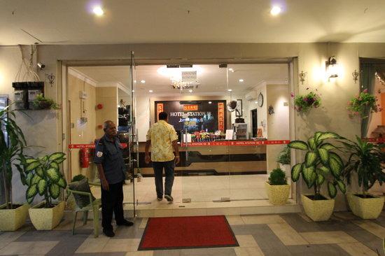 Hotel Station 18: Hotel Entrance