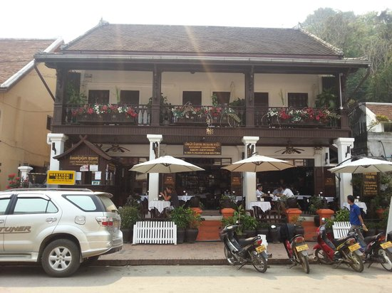 Luang Prabang Bakery Guesthouse : Nice guesthouse and restaurant