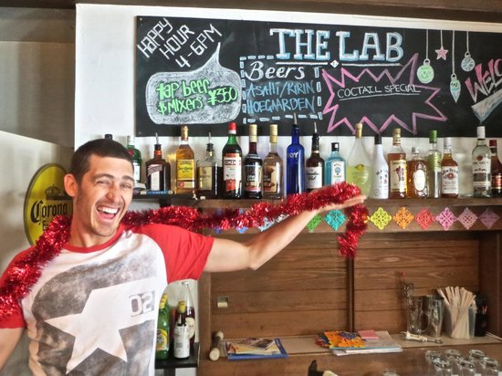 The Lab Hakuba: Barman Andy