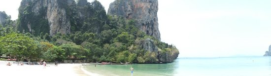Krabi La Playa Resort: One part of Railay Beach