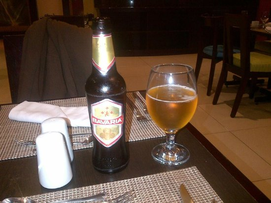 Holiday Inn Express San Jose Forum: Bavaria Gold - an excellent beer.