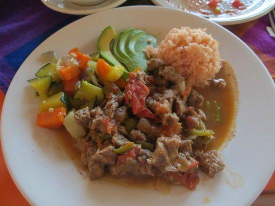 Cana Nah: Beefsteak dinner